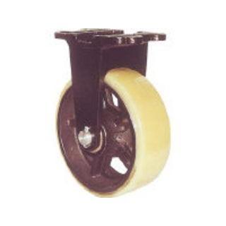 YODONO/ヨドノ 鋳物重量用キャスター 許容荷重774.2 取付穴径15mm MUHA-MK200X75
