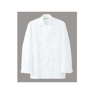 SEVEN UNIFORM/セブンユニフォーム ドレスコックコート(男女兼用)AA461−3 ホワイト L