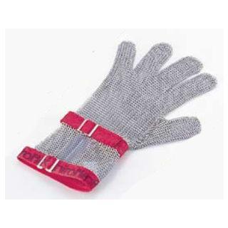 ニロフレックス メッシュ手袋5本指/S C−S5白 ショートカフ付