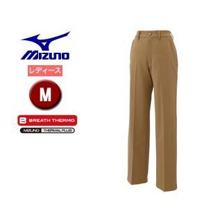 mizuno/ミズノ A2JF6701-49 ブレスサーモ ノンストレスパンツ レディース 【M】 (ベージュ)
