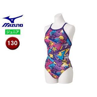 mizuno/ミズノ N2MA8968-67 エクサースーツ ミディアムカット ジュニア 【130】 (パープル)