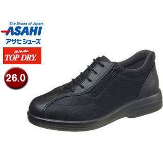 ASAHI/アサヒシューズ AF38621 TDY38-62 トップドライ ウォーキングシューズ レディース 【26.0】 (ブラック)
