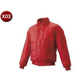SSK/エスエスケイ BWG1005-20 グラウンドコート・フロントボタンオープン・中綿 【XO2】 (レッド)