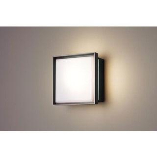 Panasonic/パナソニック LGWC85021BK LEDポーチライト オフブラック【電球色】【明るさセンサ付】【壁直付型】