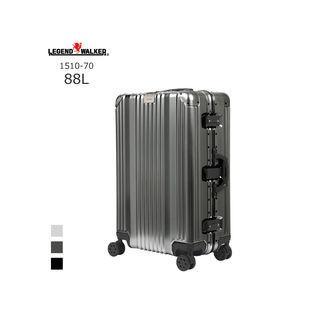 LEGEND WALKER/レジェンドウォーカー  1510-70 アルミ合金フレームスーツケース (88L/ガンメタ)