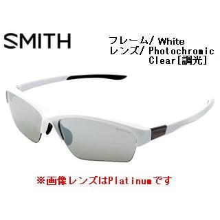 Smith Optics/スミス  TAKEFIVE SPORTS White 【レンズ/Photochromic Clear [調光]】