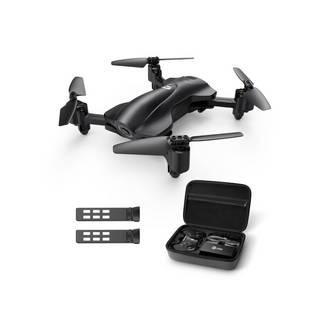 HolyStone ホリストーン  GPS搭載カメラ付き折り畳み式小型セルフィードローン/バッテリー2個 1080p·生中継可能·高度維持 HS165