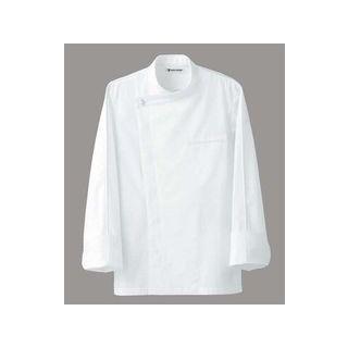 SEVEN UNIFORM/セブンユニフォーム ドレスコックコート(男女兼用)BA1044−0 ホワイト M