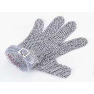 ニロフレックス メッシュ手袋5本指/M M5R−S 右手用(赤)