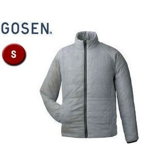 GOSEN/ゴーセン Y1612 アイダーウォームスジャケット 【S】 (ライトグレー)