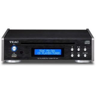 TEAC ティアック PD-301-B(ブラック) ワイドFMチューナー搭載CD ...