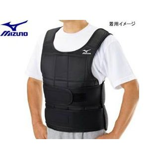 mizuno/ミズノ  【納期2月中旬以降】C3JWT419-00 ウエイトジャケット (おもり付 最大10kg)