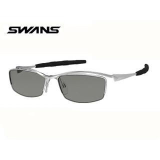 SWANS/スワンズ 【度付ダイレクトレンズ対応】SWF-UP-P-0053 「スポーツ+度付き」SWF Series マットシルバー