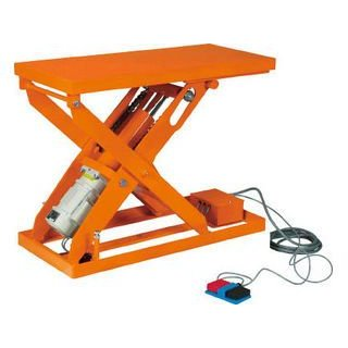 TRUSCO/トラスコ中山 【代引不可】スーパーFAリフター300kg 電動式 900X800 HFA-30-0809-20