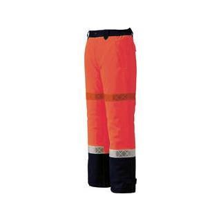 XEBEC/ジーベック 800 高視認防水防寒パンツ Mサイズ オレンジ 800-82-M