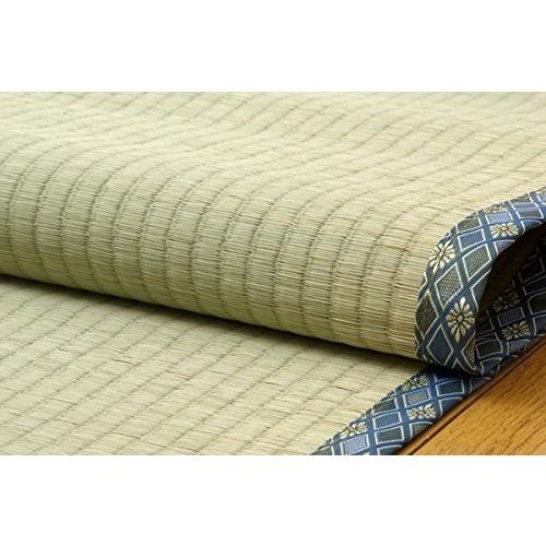 純国産 糸引織 い草上敷 『きぬがわ』 江戸間 8畳(約352×352cm)