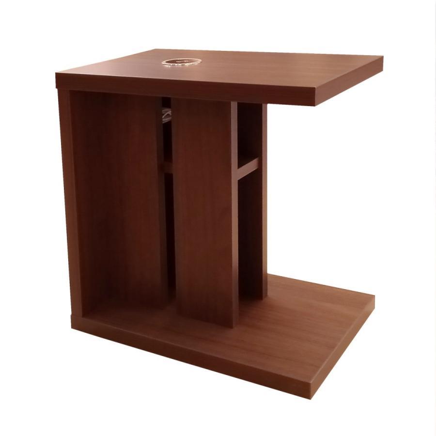 ナイトテーブル サイドテーブル ワイヤレス充電 アルタ BR