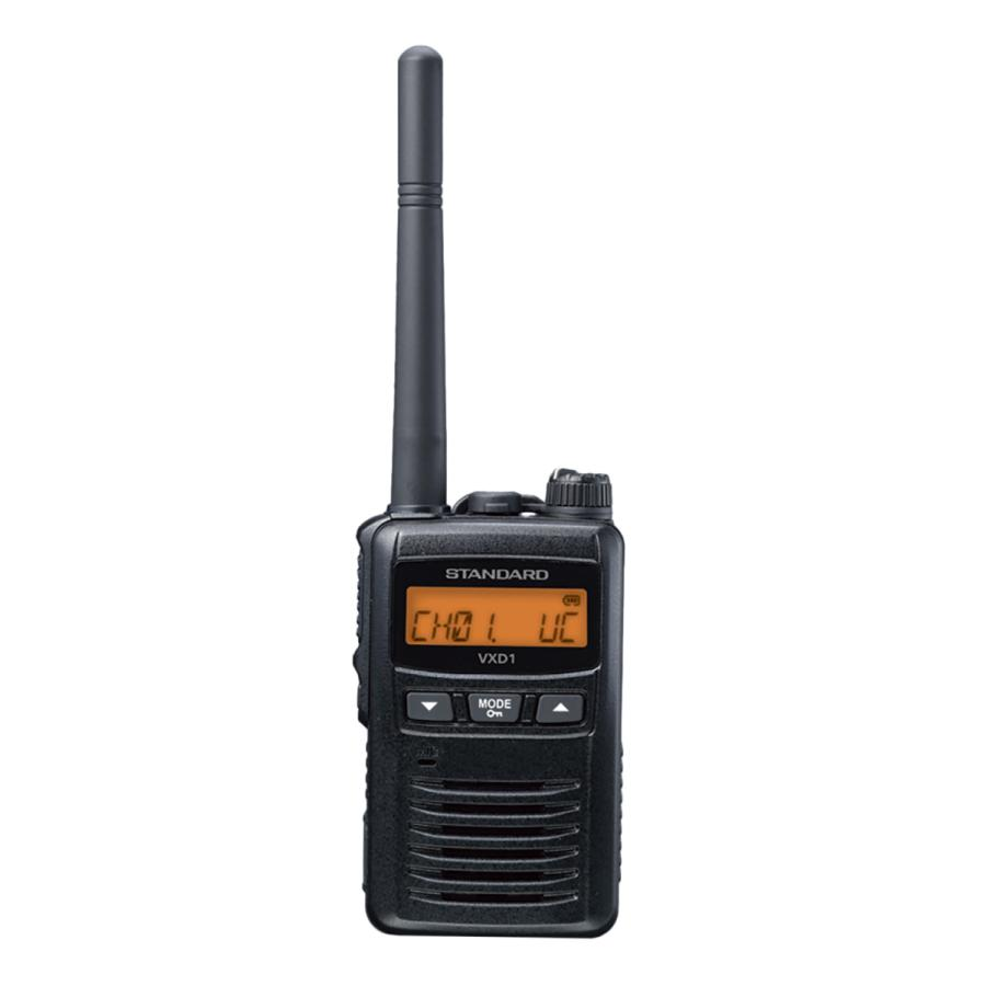 携帯型簡易登録局 VXD1 スタンダード(STANDARD) musen-direct