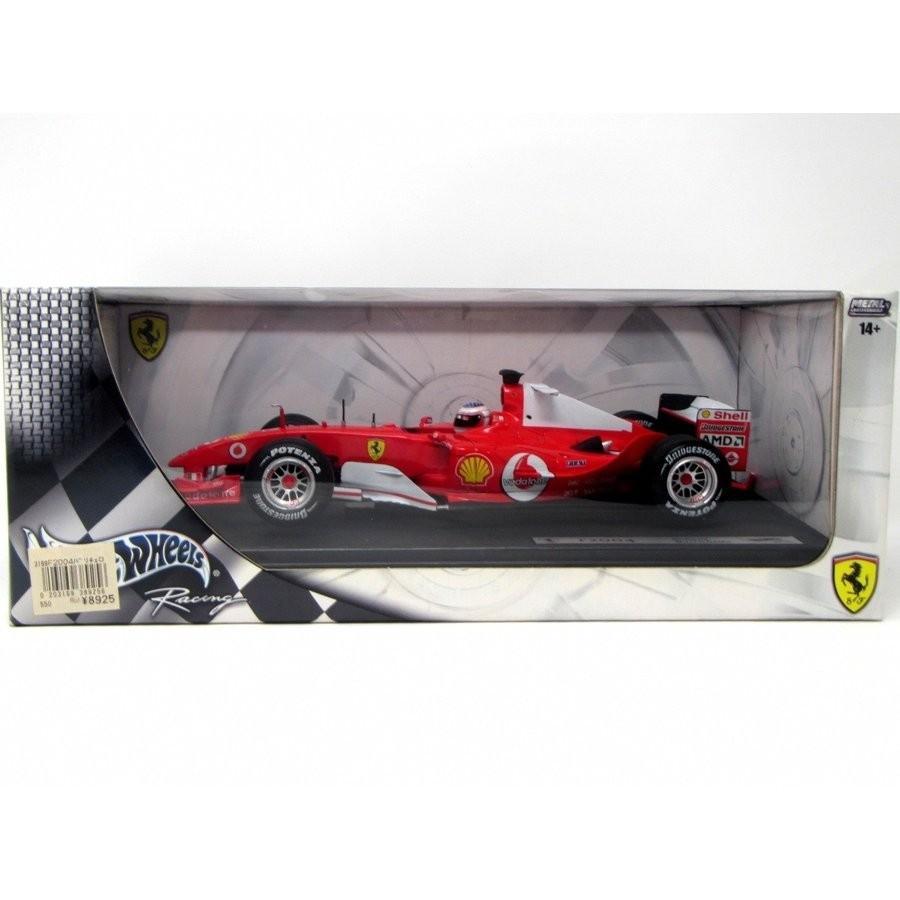 マテル 1/18フェラーリF2004 R.バリチェロ