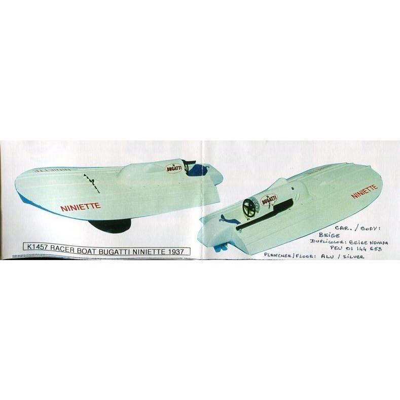 プロバンス 1/43ブガッティレーサーボート