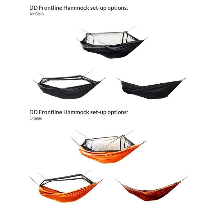 ハンモック DDハンモック DD Frontline Hammock フロントラインハンモック 蚊帳付き  オリーブグリーン コヨーテブラウン ジェットブラック サンセットオレンジ music-outdoor-lab 10
