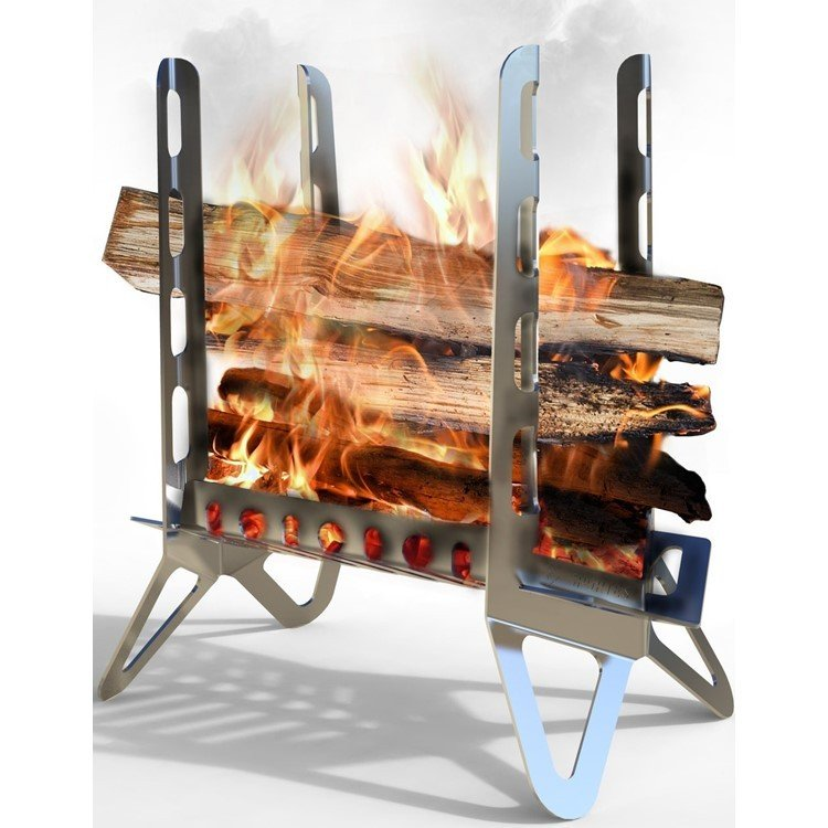 焚き火台 焚火台 SPORTES スポルテス  FIREWAALL + PLUS & Wind Blades (Kit of 2)  ファイヤーウォール プラス ウインドブレード フルキット 風防付 music-outdoor-lab 10