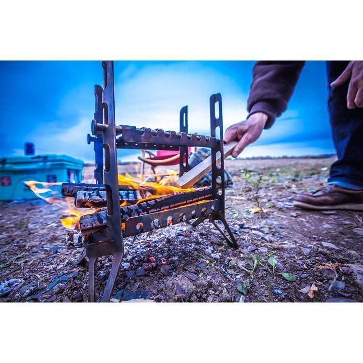 焚き火台 焚火台 SPORTES スポルテス  FIREWAALL + PLUS & Wind Blades (Kit of 2)  ファイヤーウォール プラス ウインドブレード フルキット 風防付 music-outdoor-lab 13