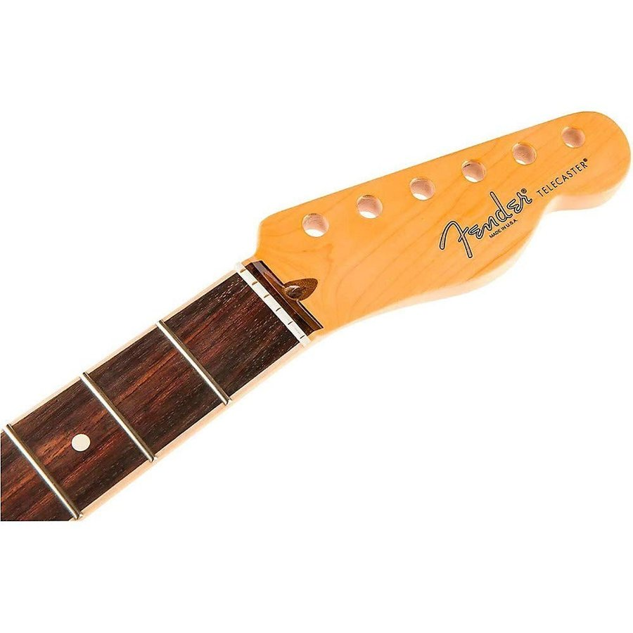 Fender American Channel Bound Telecaster Neck, 21 Med Jumbo Frets, Rosewood|フェンダー純正パーツ