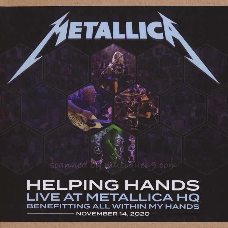 メタリカ Metallica - Helping Hands Live at Metallica HQ (CD)|musique69