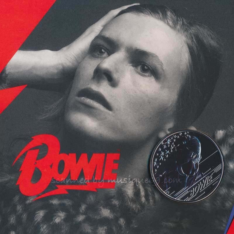 デヴィッドボウイ David Bowie - Music Legends: David Bowie 2020 £5 Brilliant Uncirculated Coin - Edition 3 (goods)|musique69|03