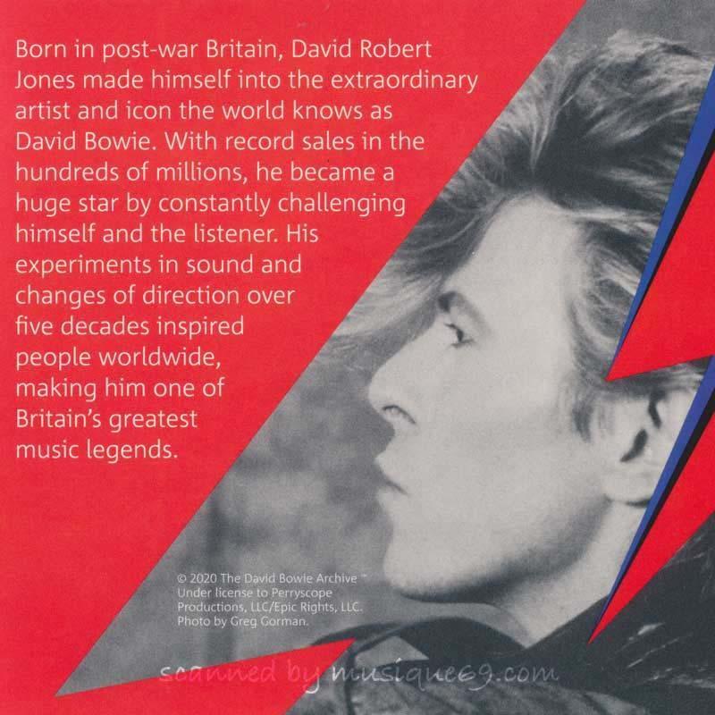 デヴィッドボウイ David Bowie - Music Legends: David Bowie 2020 £5 Brilliant Uncirculated Coin - Edition 3 (goods)|musique69|04
