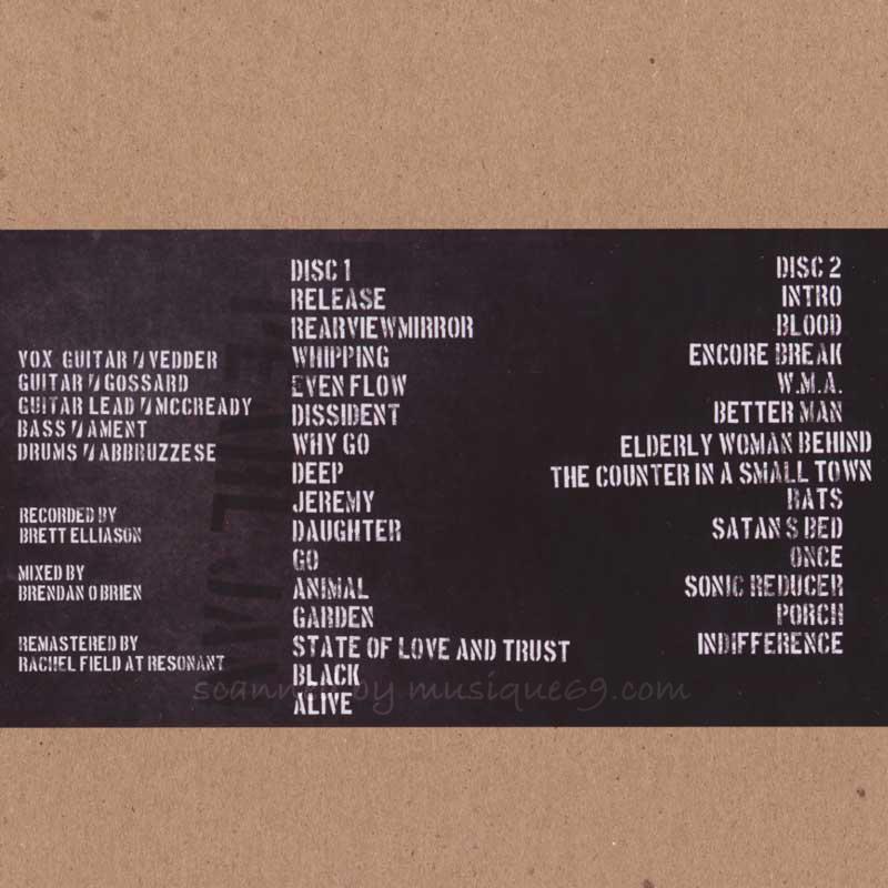 パールジャム Pearl Jam - Vault Series #11: Atlanta 04/03/1994 (CD)|musique69|02