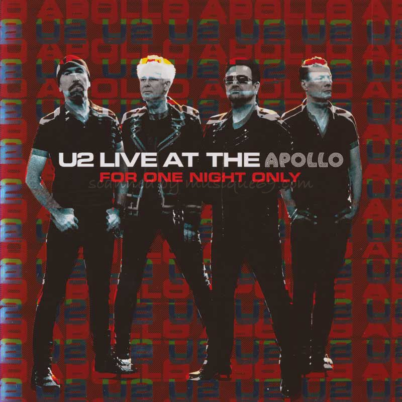 U2 - Live at the Apollo: For One Night Only (CD)|musique69