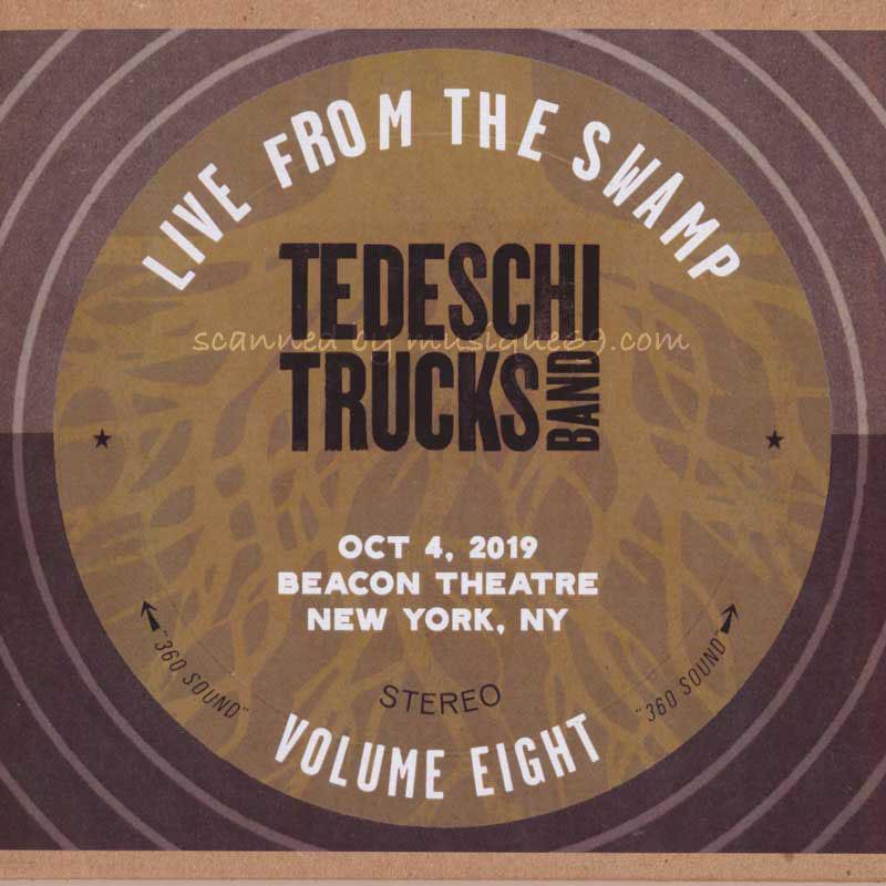 テデスキトラックスバンド Tedeschi Trucks Band - Live from the Swamp Volume 8: NYC 10/04/2019 (CD)|musique69