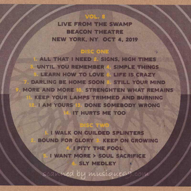テデスキトラックスバンド Tedeschi Trucks Band - Live from the Swamp Volume 8: NYC 10/04/2019 (CD)|musique69|02
