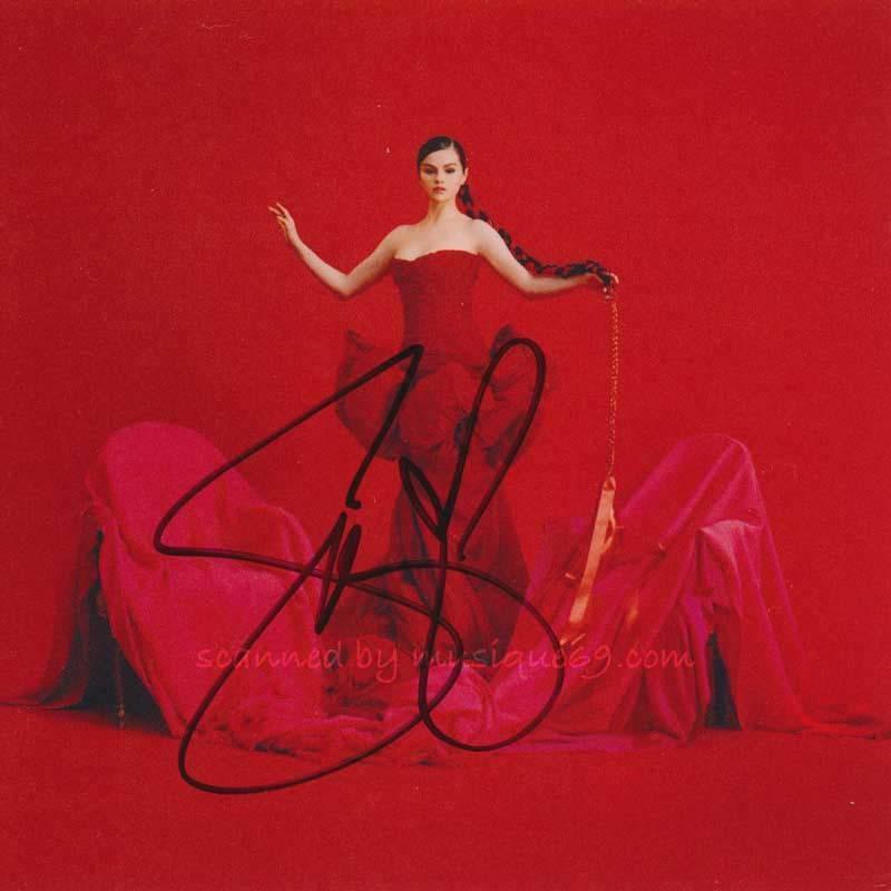 セレーナゴメス Selena Gomez - Revelacion: Exclusive Autographed Edition (CD)|musique69