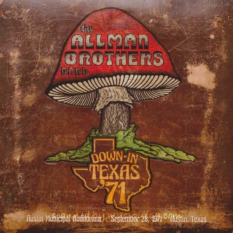 オールマンブラザーズバンド The Allman Brothers Band - Down in Texas '71 (CD)|musique69