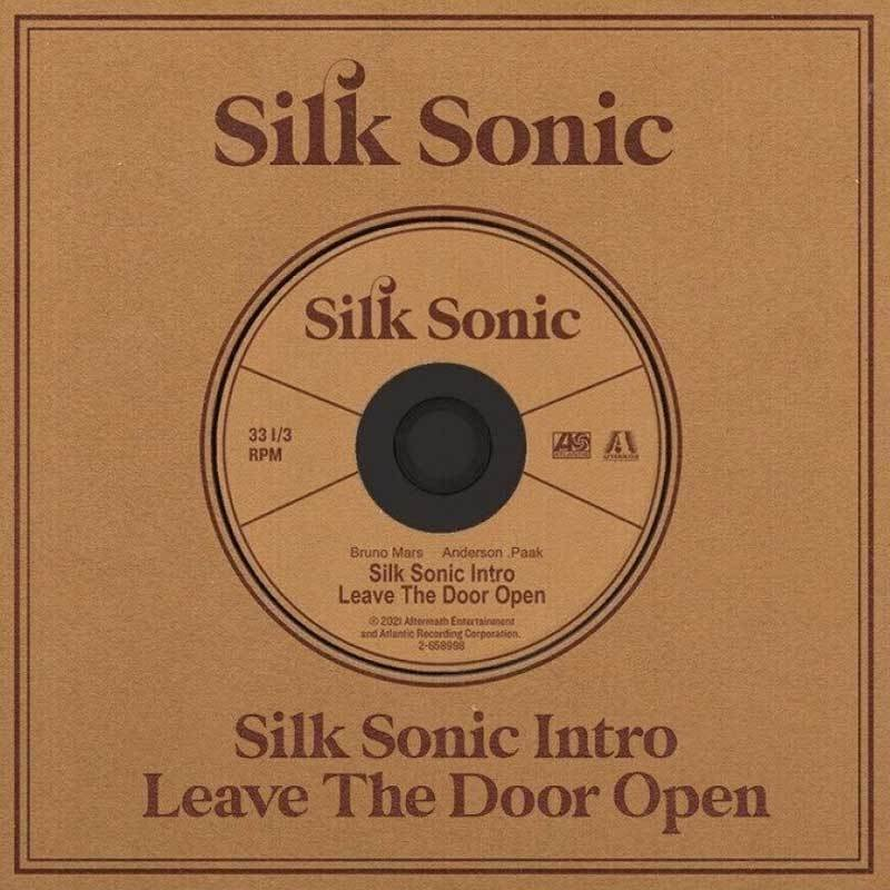 ブルーノマーズ Bruno Mars (Silk Sonic) - Leave the Door Open: Collectible Single (CD)|musique69