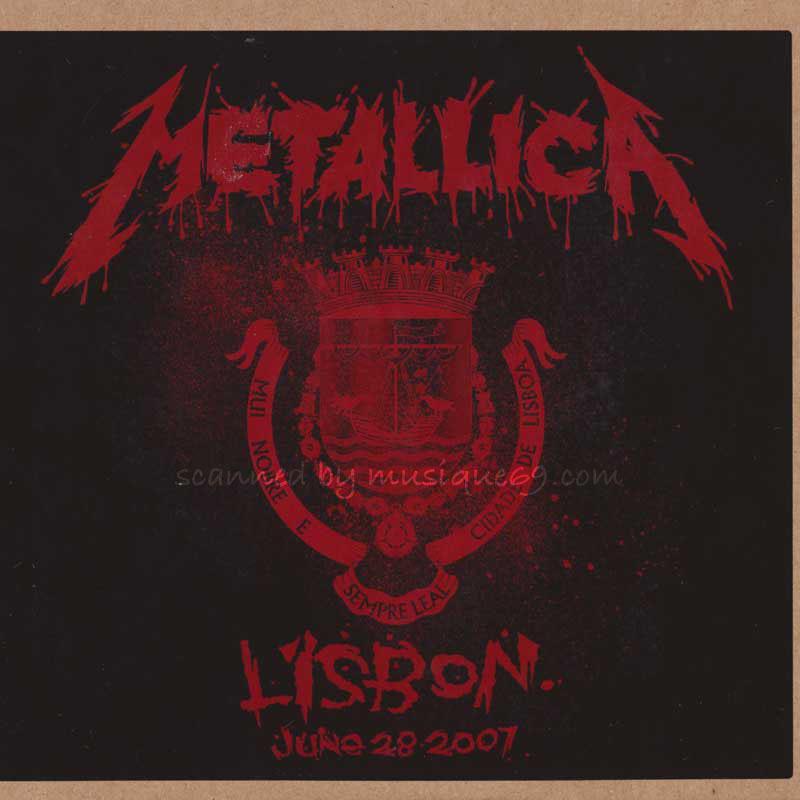 メタリカ Metallica - Lisbon, Portugal June 28, 2007 (CD)|musique69