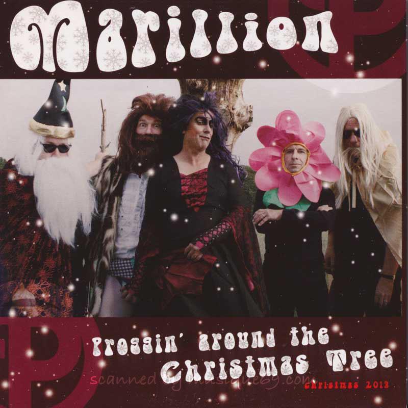 マリリオン Marillion - Proggin' Around the Christmas Tree: Official Fan Club 2013 Release (DVD)|musique69