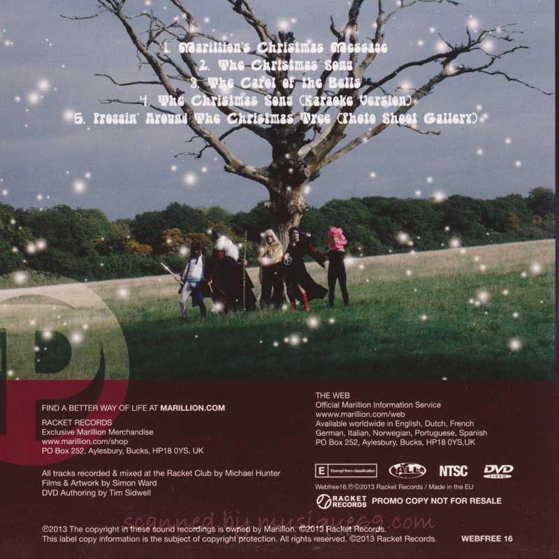 マリリオン Marillion - Proggin' Around the Christmas Tree: Official Fan Club 2013 Release (DVD)|musique69|02