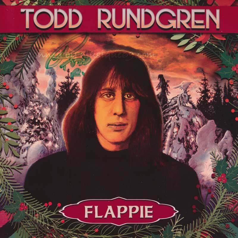 トッドラングレン Todd Rundgren - Flappie: Exclusive Autographed Red Coloured Edition (vinyl) musique69