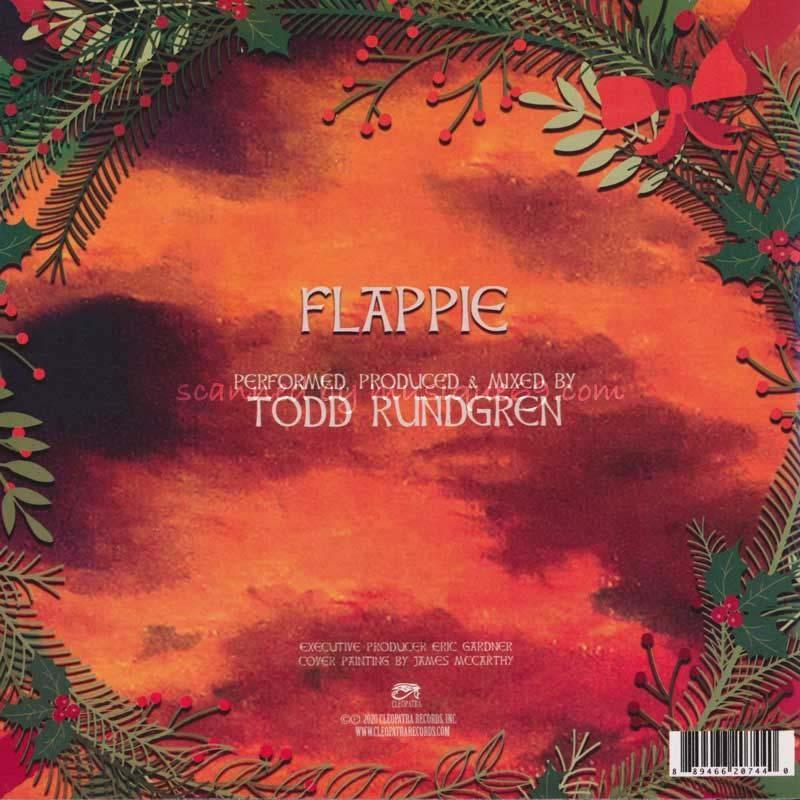 トッドラングレン Todd Rundgren - Flappie: Exclusive Autographed Red Coloured Edition (vinyl) musique69 02