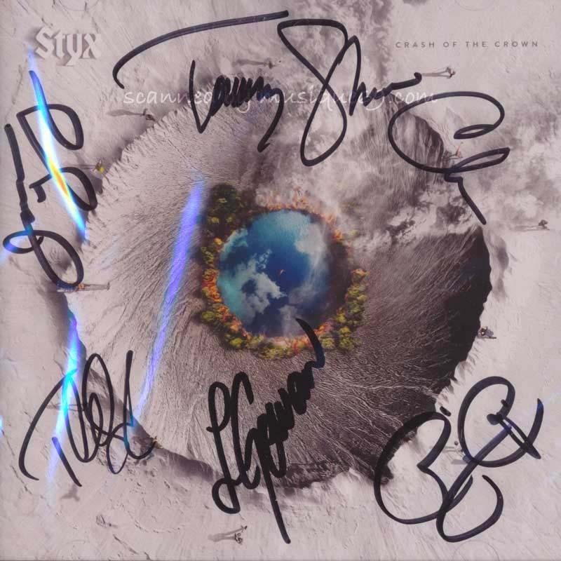 スティクス Styx - Crash of the Crown: Exclusive Autographed Edition (CD)|musique69