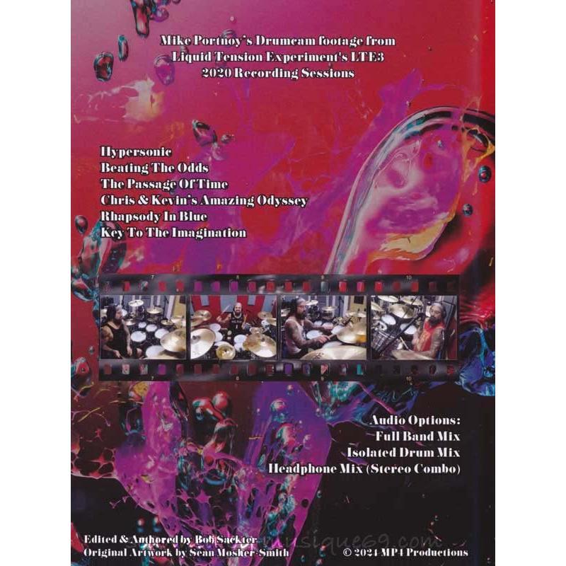 リキッドテンションエクスペリメント Liquid Tension Experiment (Mike Portnoy) - LTE3 (DVD)|musique69|02