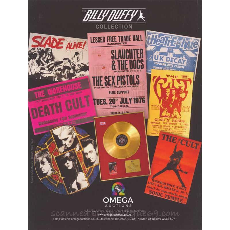ザ・カルト The Cult (Billy Duffy) - The Billy Duffy 2019 Catalogue|musique69|02