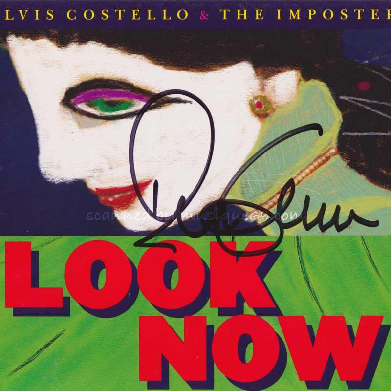 エルヴィスコステロ Elvis Costello & The Imposters - Look Now: Exclusive Autographed Deluxe Edition (CD)|musique69