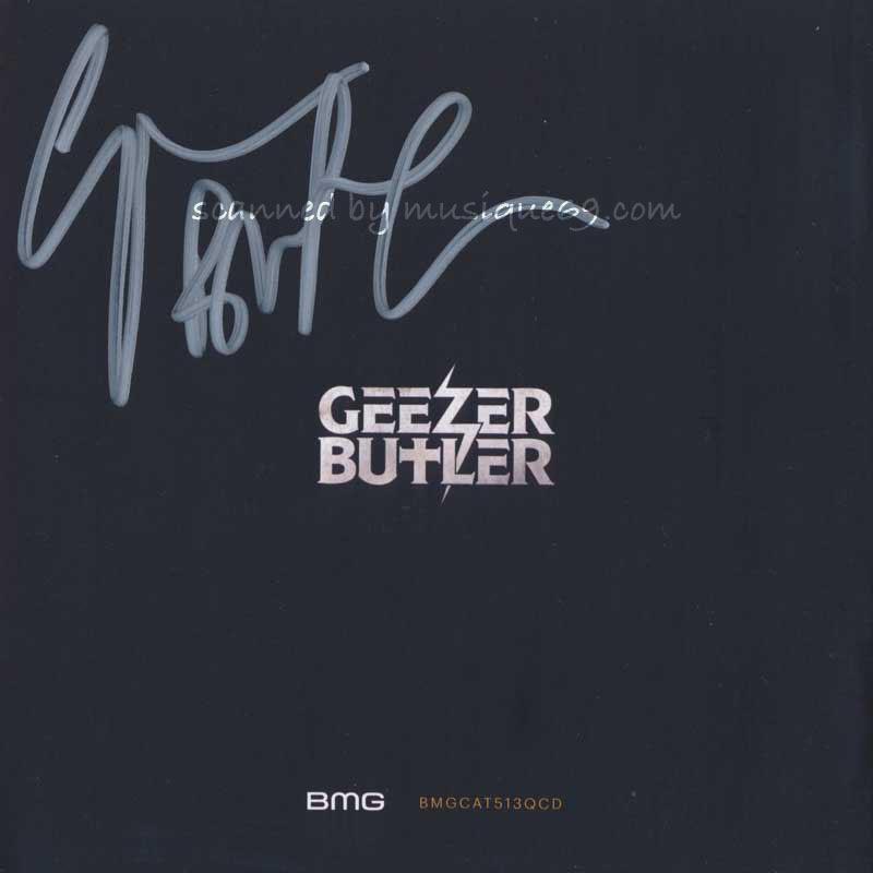 ギーザーバトラー Geezer Butler - Manipulations of the Mind (The Complete Collection): Exclusive Autographed Edition (CD) musique69