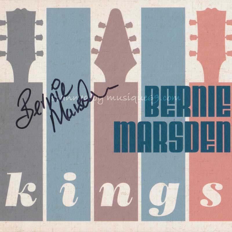 バーニーマースデン Bernie Marsden - Kings: Exclusive Autographed Special Limited Edition (CD) musique69