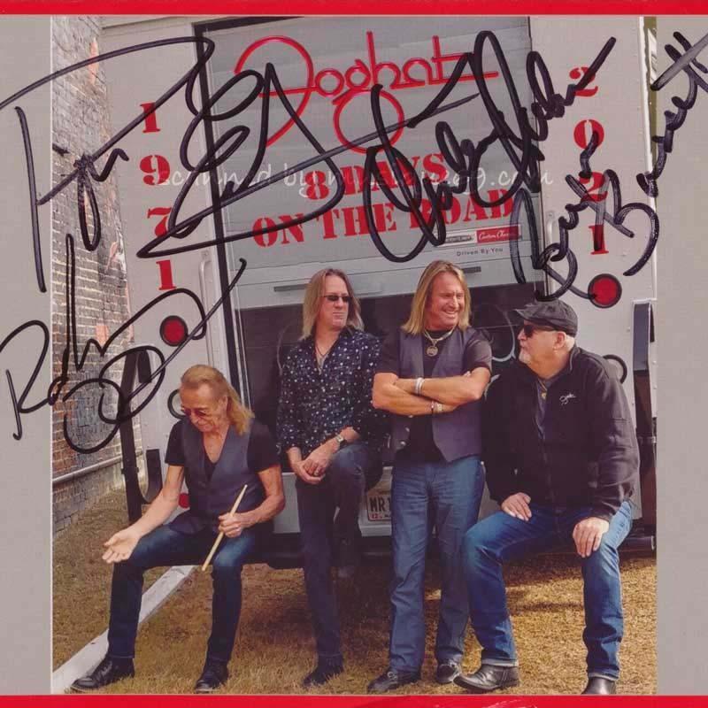 フォガット Foghat - 8 Days on the Road: Exclusive Autographed Edition (CD/DVD)|musique69
